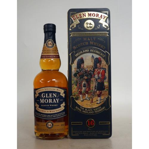 Glen Moray 16 Year Old Whisky - 70cl 40%