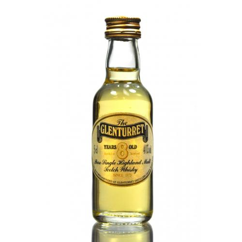 Glenturret 8 Year Old \'The Highland\' Whisky Miniature - 5cl 40%
