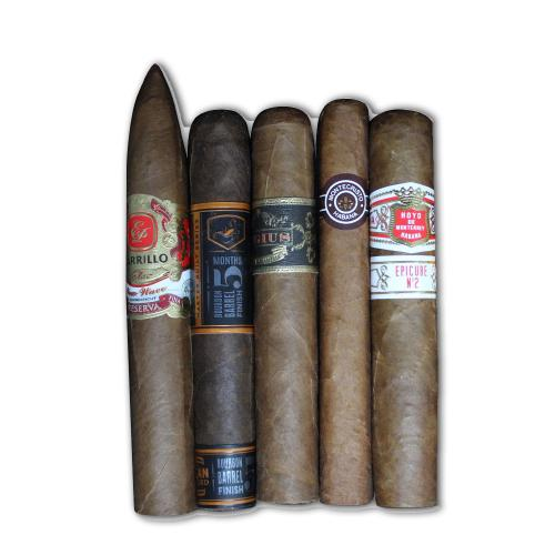 Graduation Cigar Selection Sampler - 5 Cigars