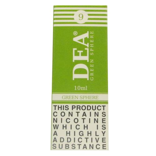 DEA Green Sphere Vape E- Liquid 10ml 04mg