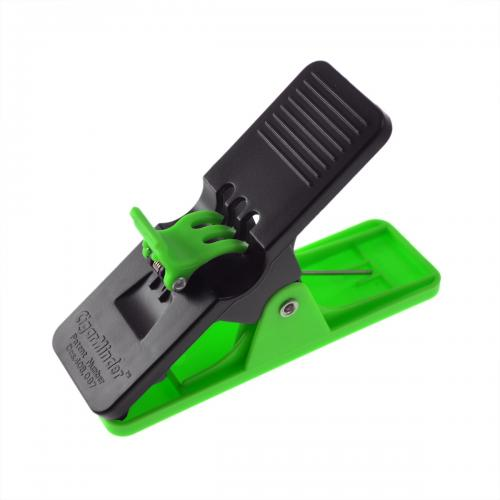 Cigar Minder 2 Clip Holder - Black & Green