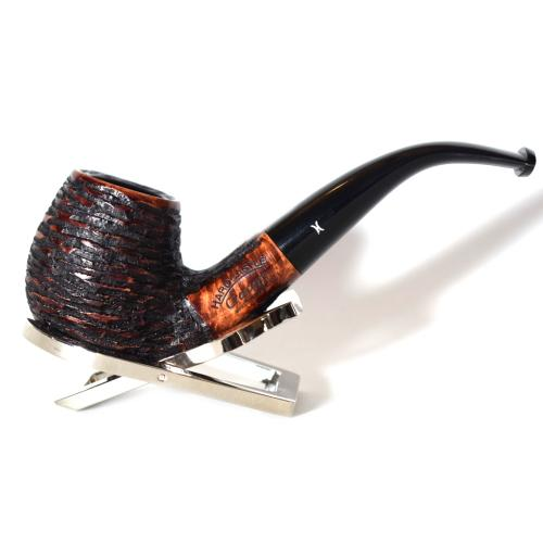 Hardcastle Crescent 121 Rustic 9mm Filter Bent Fishtail Pipe (H0187)
