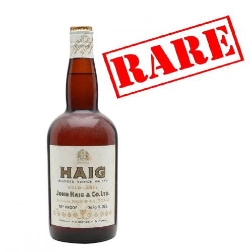 Haig Club Gold Label 1960s Whisky - 75cl 40%