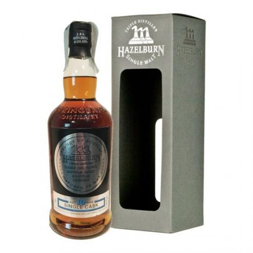 Hazelburn 10 Year Old Single Cask Single Malt Scotch Whisky - 70cl 53.9%