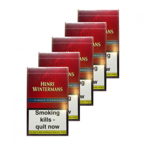 Henri Wintermans Half Corona - 5 packs of 5 (25 cigars)