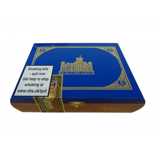Empty Highclere Castle Puros Robusto Cigar Box