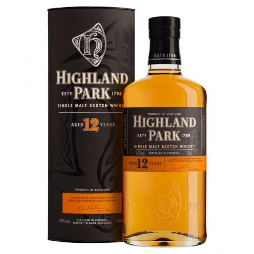 Highland Park 12 Year Old Single Malt Scotch Whisky - 70cl 40%