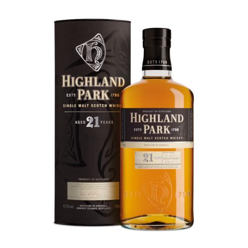 Highland Park 21 Year Old Single Malt Scotch Whisky - 70cl 47.5%