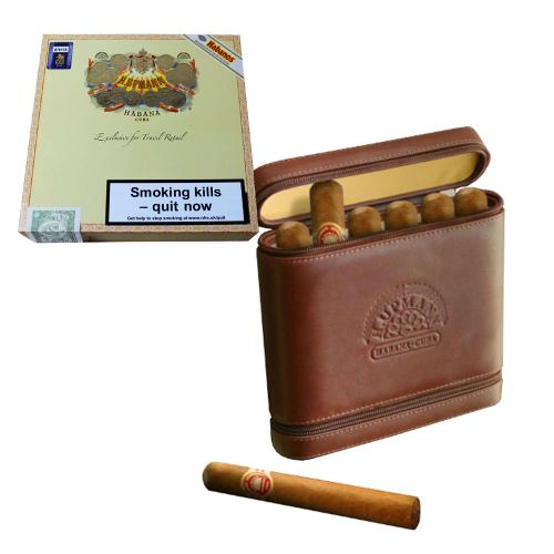 H. Upmann Robusto Travel Humidor - 6 Robusto Cigar (Discontinued)