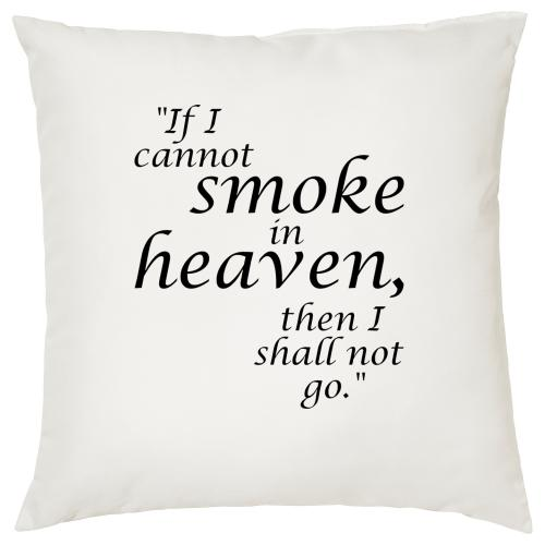 Smoke in Heaven - Cigar Themed Cushion