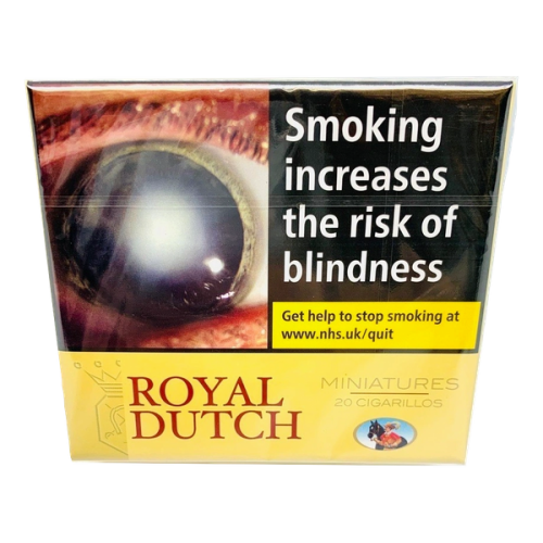Ritmeester Royal Dutch Miniature Yellow - Pack of 20