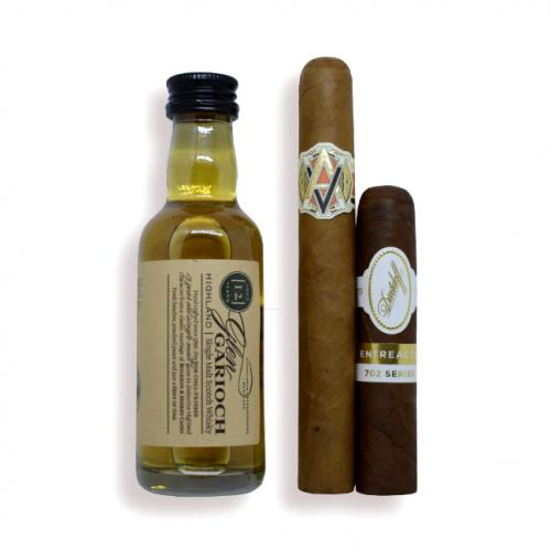 Exclusive - Intro to Pairing Sampler - Glen Garioch 12 Year Old and Cigars