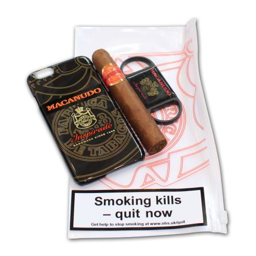 Macanudo Mareva Cigar and Cutter Set - iPhone 6 Black Case