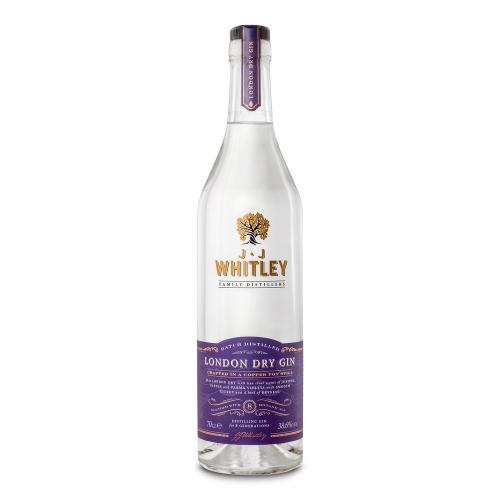JJ Whitley London Dry Gin - 70cl 38.6%