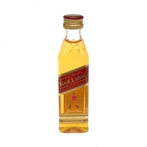 Johnnie Walker Red Label Blended Scotch Whisky - 5cl 40%