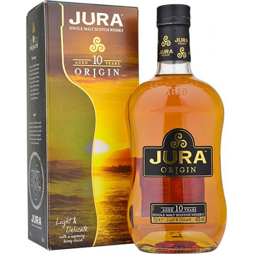 Isle of Jura 10 Year Old Origin Single Malt Whisky - 70cl 40% (Discontinued)