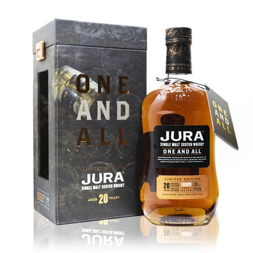 Isle of Jura One and All Single Malt Scotch Whisky - 70cl 51%