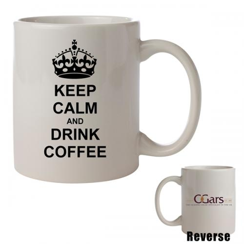 C.Gars Ltd - Keep Calm and Drink Coffee Mug