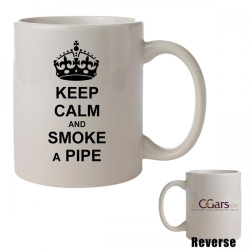 C.Gars Ltd - Keep Calm and Smoke a Pipe Mug