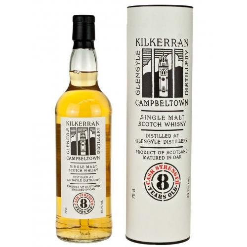 Kilkerran 8 Year Old Cask Strength 2nd Release Single Malt Whisky - 70cl 55.7%