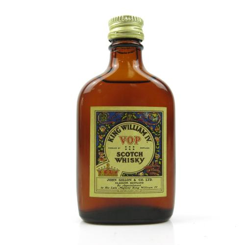 King William IV Scotch Whisky Miniature - 5cl