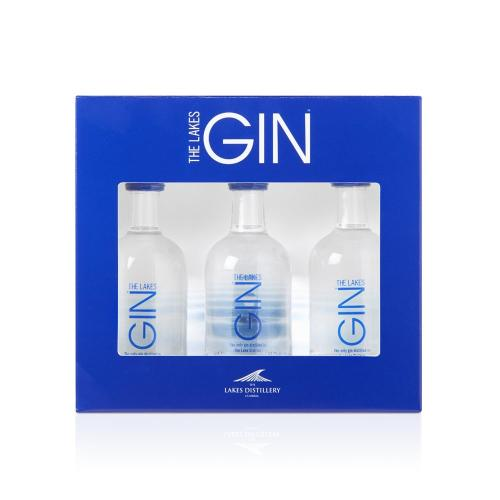 Lakes Distillery Gin Miniature Gift Set - 3x5cl Pack