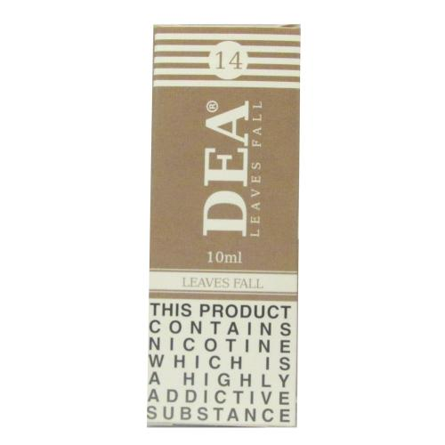 DEA Leaves Fall Vape E- Liquid 10ml 14mg