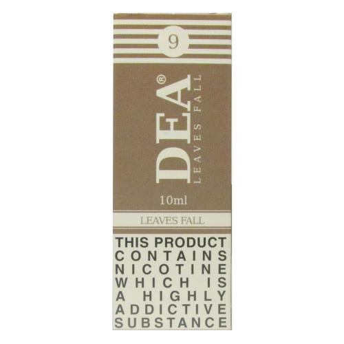DEA Leaves Fall Vape E- Liquid 10ml 09mg