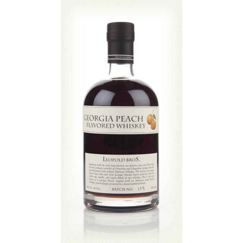 Leopold Bros Georgia Peach Flavoured Whiskey - 70cl 30%