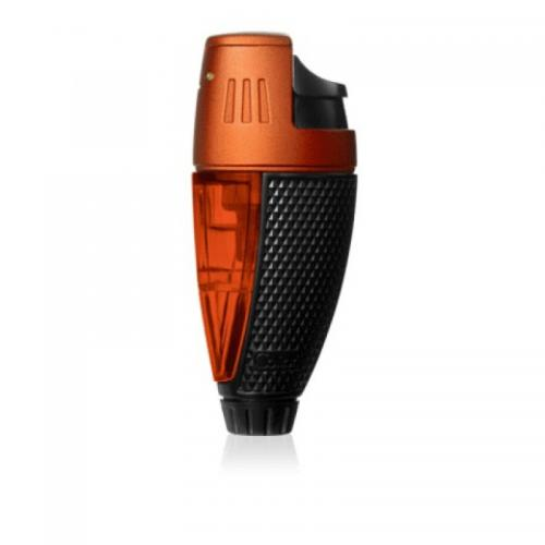 Colibri Talon Single-jet Flame Lighter - Orange & Black (End of Line)