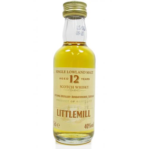 Littlemill 12 Year Old Miniature - 5cl 40%