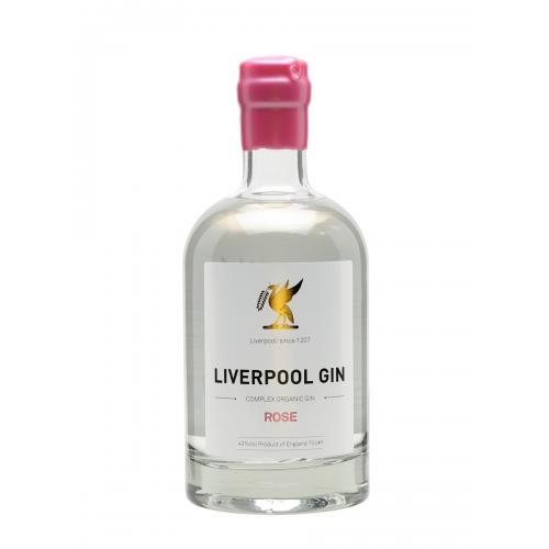 Liverpool Rose Gin - 70cl 42%