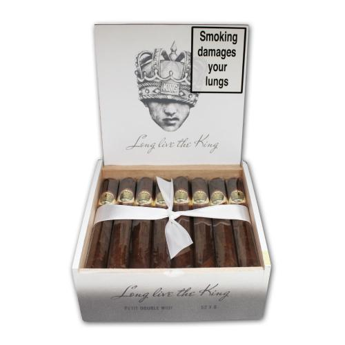 Caldwell Long Live the King Petit Double Wide Short Churchill Cigar - Box of 24