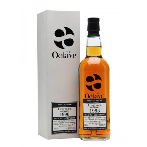 Longmorn 18 Year Old 1996 Octave Single Malt Scotch Whisky - 70cl 53.4%