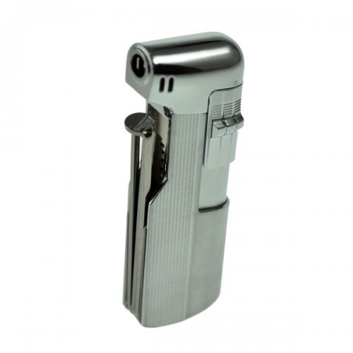 Jean Claude Piezo Pipe Lighter With Tools - Chrome