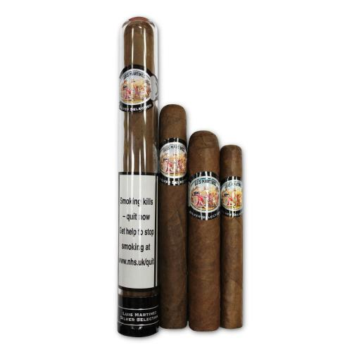 Luis Martinez Silver Selection Sampler - 4 Cigars