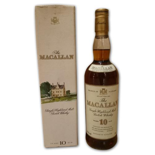 Macallan 10 Year Old Whisky - 70cl 40%