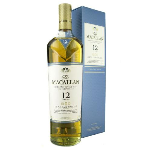Macallan 12 Year Old Triple Cask Matured Single Malt Scotch Whisky - 70cl 40%