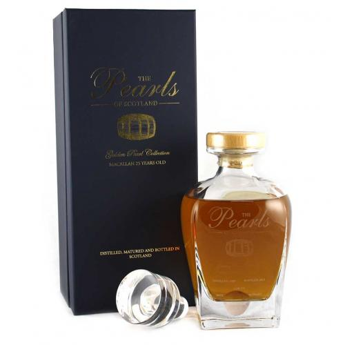 Macallan 1989 25 Year Old Golden Pearl Collection Whisky 70cl 46%