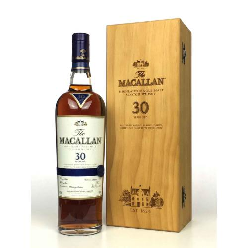Macallan 30 Year Old Sherry Oak Single Malt Scotch Whisky - 70cl 43%