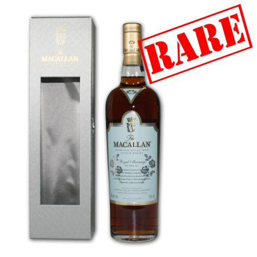 Macallan Royal Marriage Prince William & Kate Middleton Whisky - 70cl 46.8%