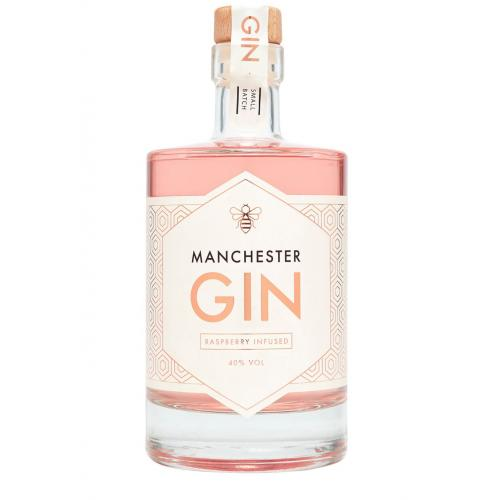 Manchester Raspberry Infused Gin - 70cl 40%