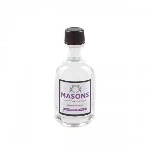 Masons Dry Yorkshire Lavender Edition Gin Miniature - 5cl 42%
