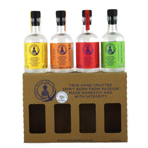 McQueens 4 x 10cl Gift Pack