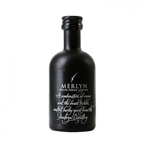 Merlyn Welsh Cream Liqueur Miniature - 17% 5cl