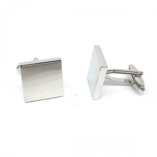 Square Deluxe Personalised Cufflinks