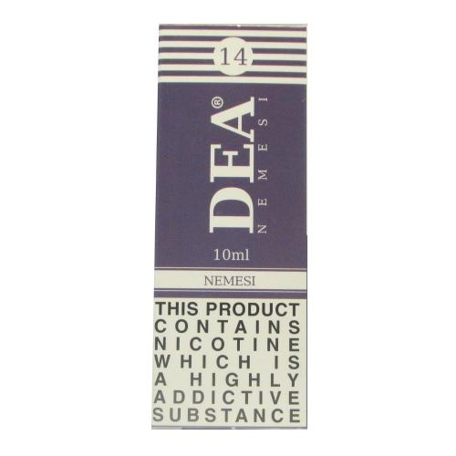 DEA Nemesi Vape E- Liquid 10ml 14mg