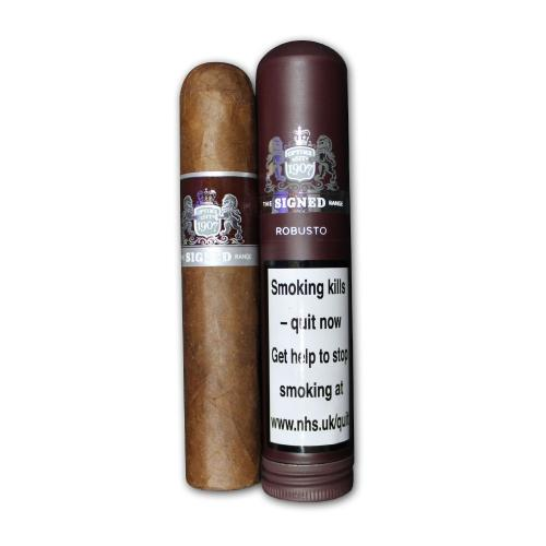 Dunhill Signed Range - Tubed Robusto Cigar - 1 Single  (Discontinued)