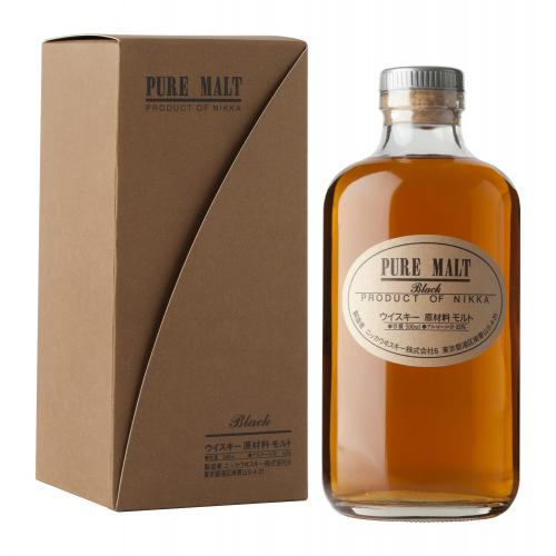 Nikka Pure Malt Black Japanese Whisky - 50cl 43%