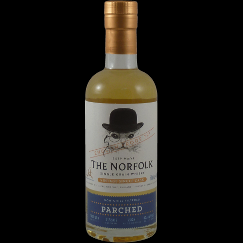 The Norfolk Parched Single Grain Whisky - 50cl 45%